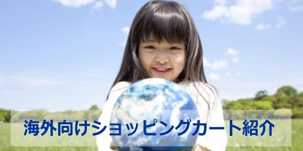 海外向けのネットショップ開業・越境ECサービス