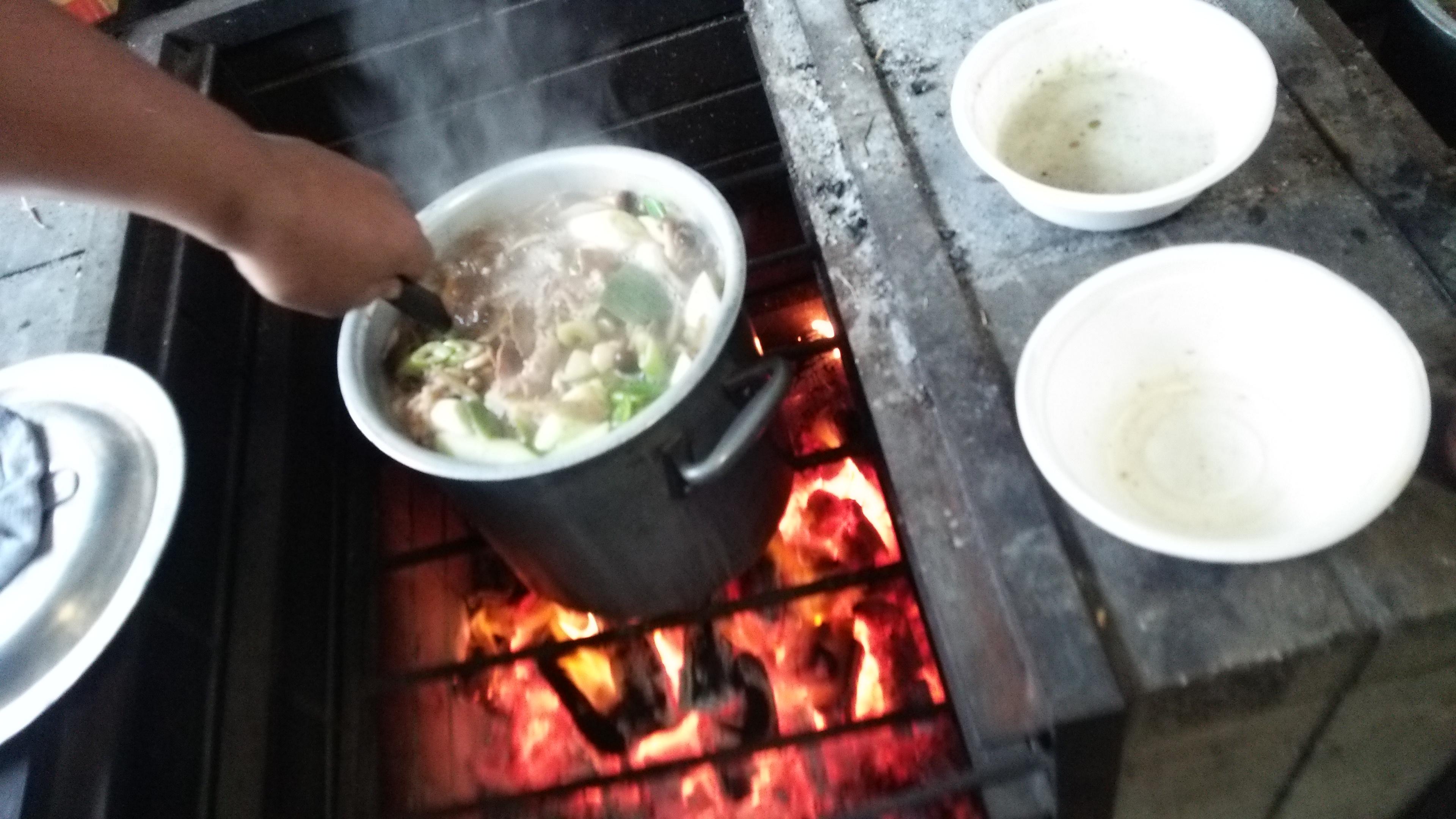芋煮会に参加しました:イモニスト100人でつくる芋煮会in東京