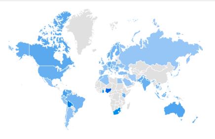 ICO海外の検索キーワードトレンド(検索推移)国別ランキングについて